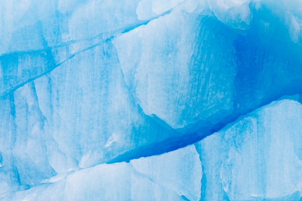Blue Iceberg close-up