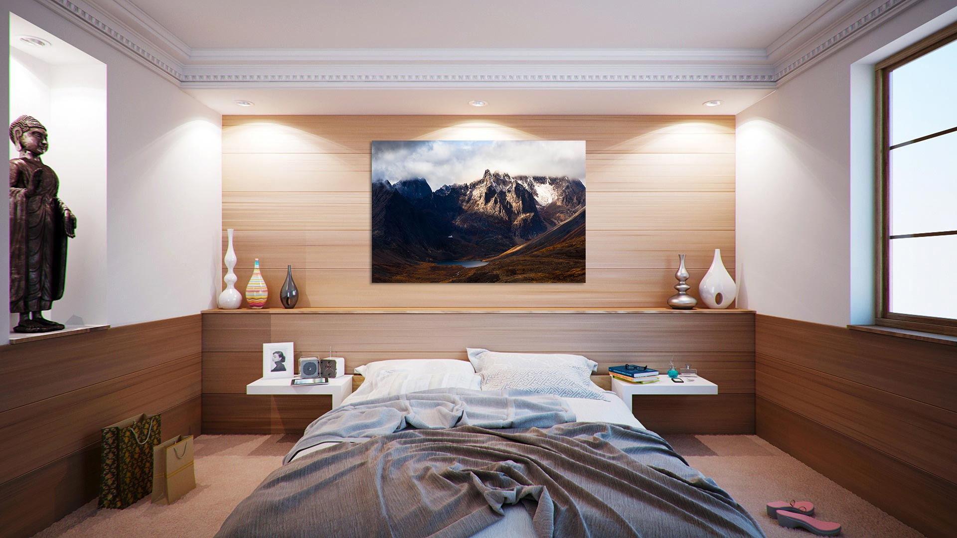 Print preview in bedroom