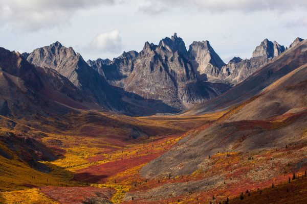 Mount Monolith in Tombstone (Yukon, Canada)